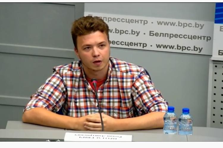 Журналісти ВВС покинули прес-конференцію, на якій Протасевич стверджував, що в нього «все добре»