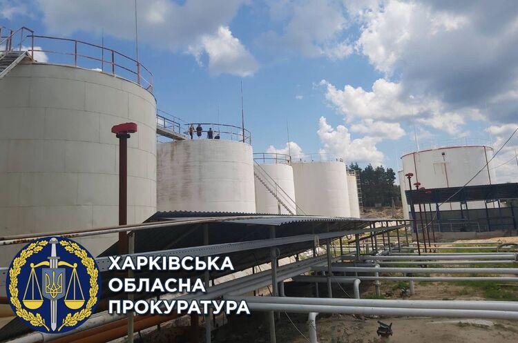 Правоохоронці припинили діяльність нелегального нафтопереробного заводу на Харківщині