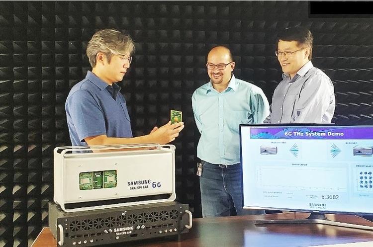 Samsung показала перший прототип системи 6G