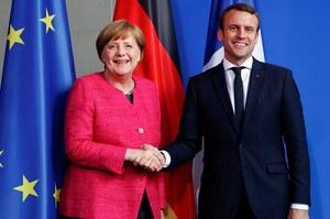 «Росія – це великий виклик для нас» - зустріч Меркель з Макроном