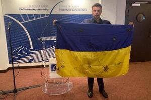 ПАРЄ не знайшло порушень у діях Гончаренка, який продемонстрував у сесійній залі український прапор