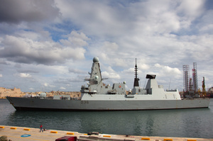 Російські військові відкрили вогонь по британському есмінцю в Чорному морі