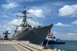 Американський есмінець увійшов у Одеський порт для навчань