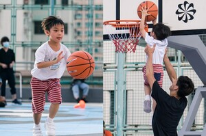 Nike побудував в Гонконзі баскетбольний майданчик з використаних кросівок