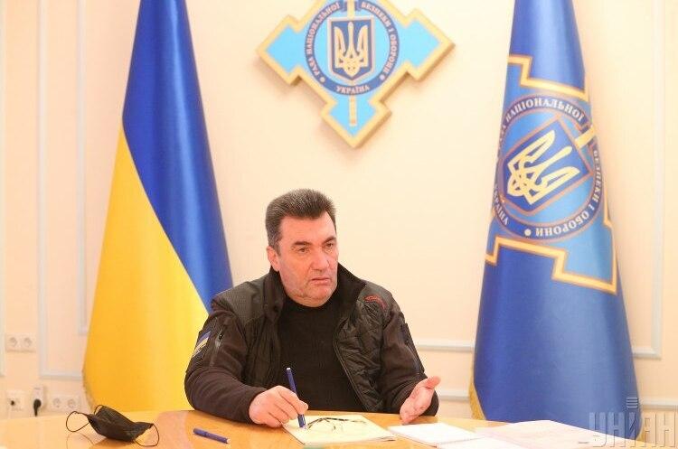 РНБО ввела санкції проти сотні українців зі списку Мінфіну США – Данілов