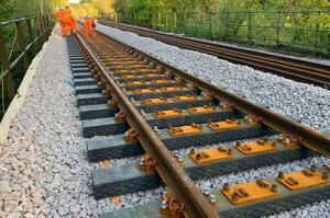 В Британії з пластикових відходів виробляють шпали для залізниці