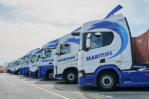 Британський перевізник Maritime обладнає свої вантажівки камерами, які спостерігають за водієм