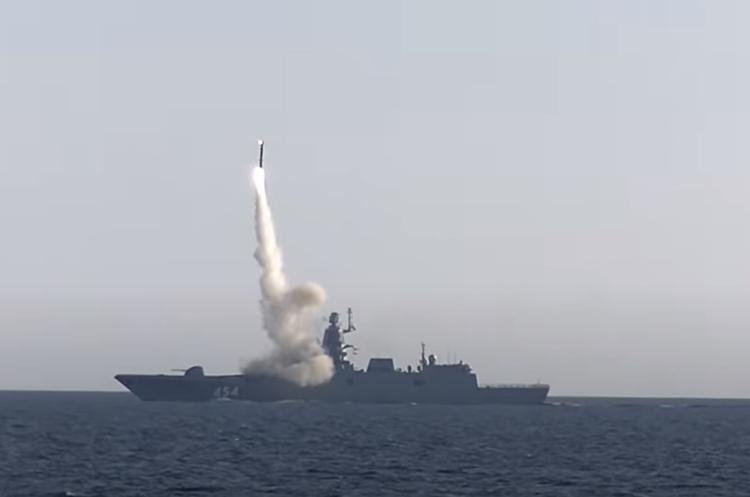 Росія провела випробування корабельної гіперзвукової ракети «Циркон» (ВІДЕО)