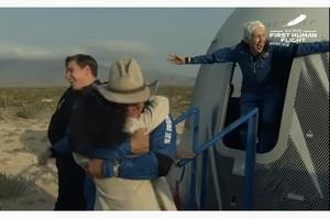 Джефф Безос із командою успішно злітав у космос і повернувся назад (ВІДЕО)