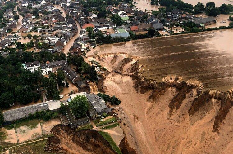 Страховики оцінюють шкоду: збитки від повеней в Німеччині складають 4-5 млрд євро