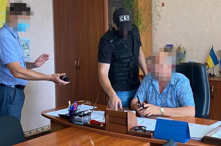 СБУ викрила на корупції одного з міських голів у Кіровоградській області
