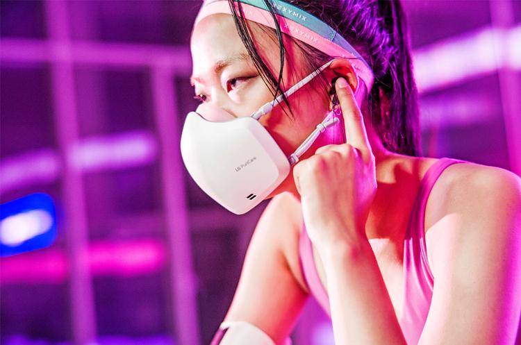 LG випустить захисні маски із вбудованими мікрофоном і динаміками