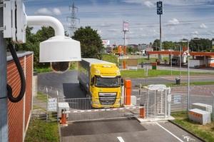 У Німеччині з'явилася безпечна парковка для вантажівок від Bosch зі штучним інтелектом