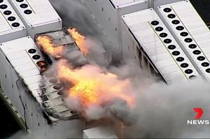 На сховище енергії Tesla Megapack в Австралії спалахнула пожежа