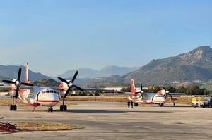 Українські літаки долучились до гасіння пожеж в Туреччині