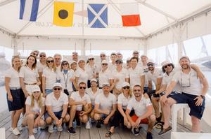 У першій вітрильній регаті kmbs взяли участь 44 випускники