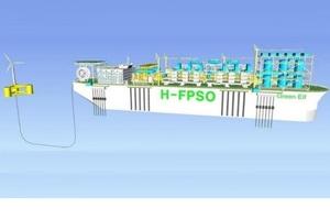 У Південній Кореї розробили плавучу морську установку, яка вироблятиме водень