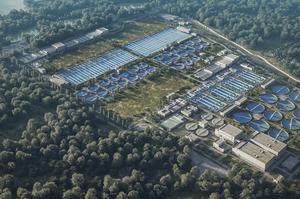 КМДА скоротила фінансування реконструкції Бортницької станції аерації у 2021 році через зміщення термінів будівництва
