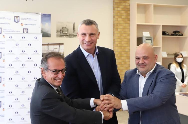 Київ уклав кредитну угоду з ЄБРР на 140 млн євро для розвитку теплової інфраструктури