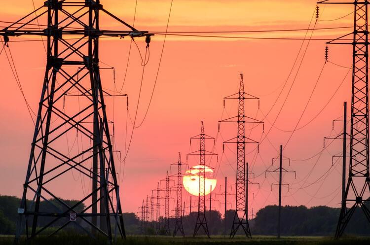 Експорт електроенергії з України впав на 17%