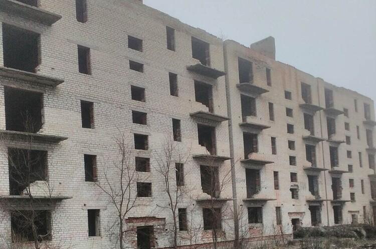 ФДМУ оголосив аукціон з приватизації недобудованого п'ятиповерхового житлового будинку в Донецькій області