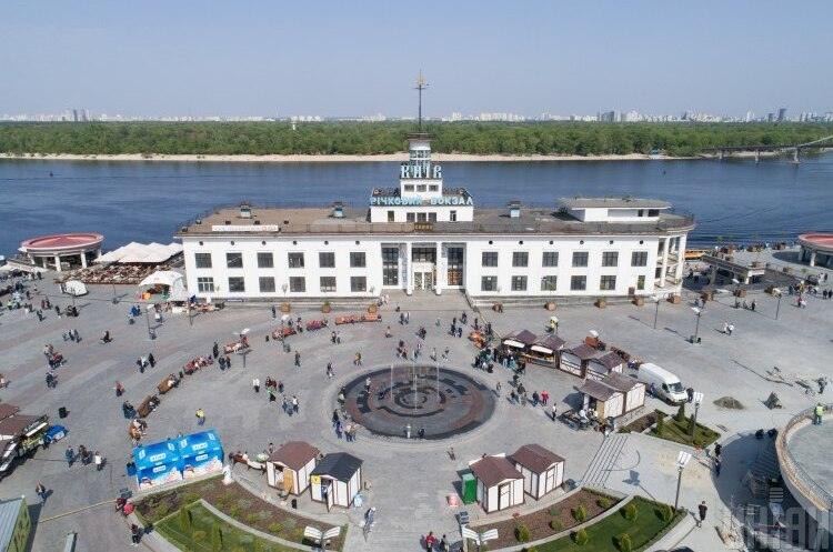 Будівлю Річкового вокзалу здали в оренду американському університету на десять років