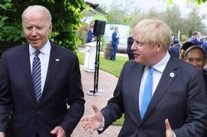 Джонсон проведе переговори з Байденом у вересні