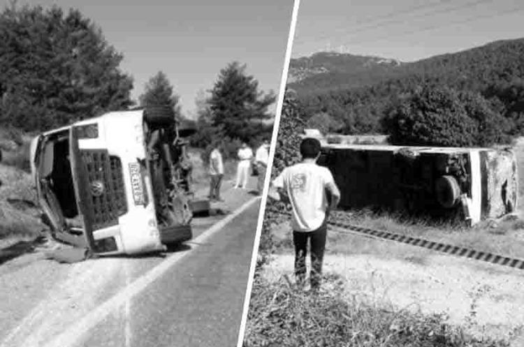У Туреччині перекинувся автобус з українськими туристами – ЗМІ
