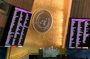 Українське питання розглянуть на Генасамблеї ООН