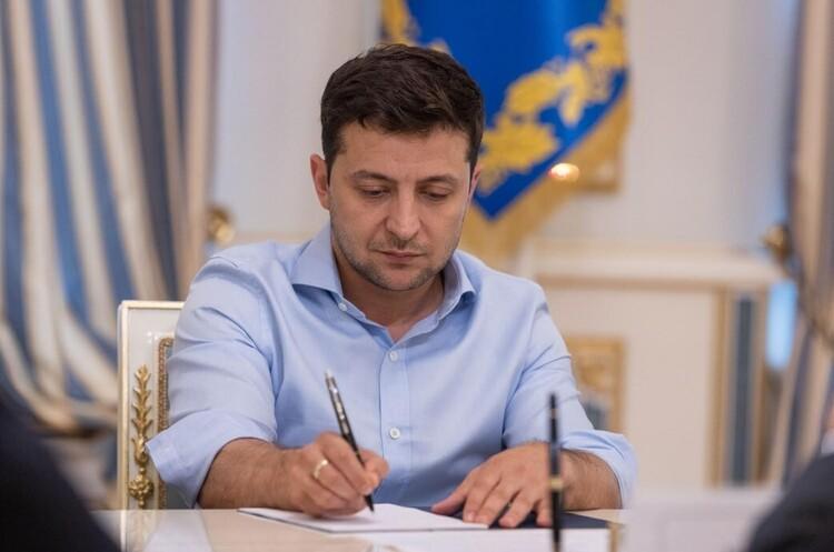 Зеленський увів у дію рішення РНБО про збільшення фінансування сектору безпеки та оборони у 2022 році