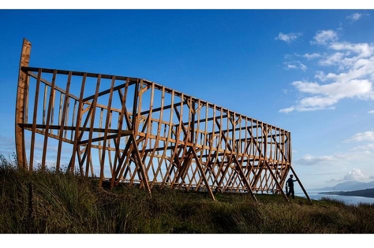 Шотландець збудував 20-метровий ковчег, щоб привернути увагу до змін клімату