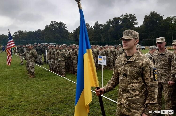 На Львівщині стартували українсько-американські навчання «Репід Трайдент – 2021»