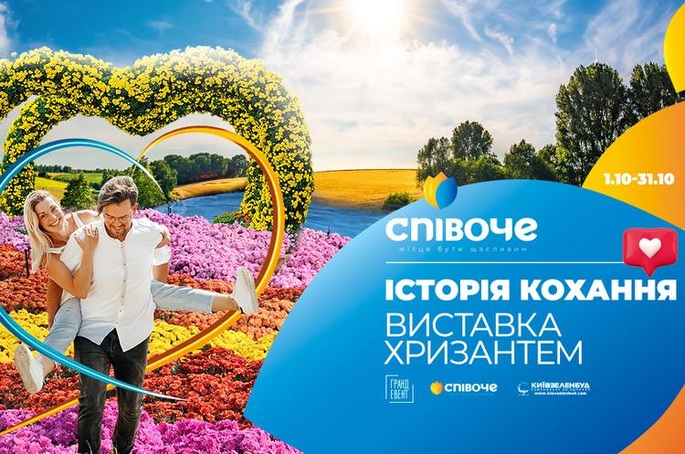 Понад мільйон бутонів хризантем: в Києві відкривається квіткова виставка для закоханих