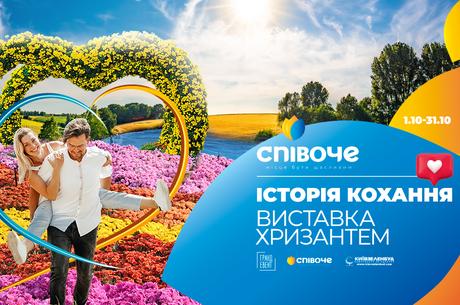Более миллиона бутонов хризантем: в Киеве открывается цветочная выставка для влюбленных