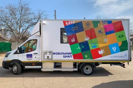 Мобільні ЦНАПи на лінії розмежування працюють за принципами ООН – Олексій Рєзніков