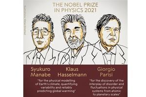Нобелівську премію з фізики присудили за «прогнозування глобального потепління»