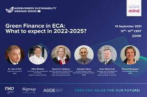 Зелені фінанси Східної Європи та Центральної Азії: чого очікувати в майбутньому
