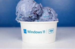 Microsoft на честь виходу нової Windows 11 випустила морозиво і роздавала його безкоштовно