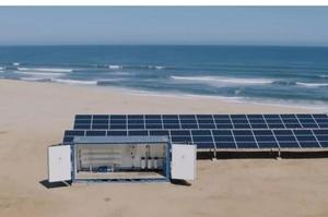 Фінська компанія розробила опріснювач морської води для Африки на сонячних батареях