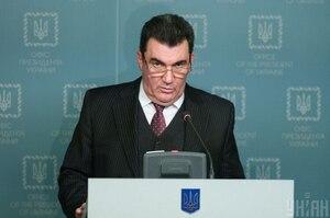 Данілов: Помилки у санкційних списках РНБО стосуються транслітерації прізвищ