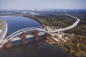 АМКУ оштрафував дві компанії на 183 млн грн за змову на торгах із будівництва Подільського мосту