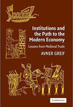 Інститути та шлях до сучасної экономіки. Уроки середньовічної торгівлі