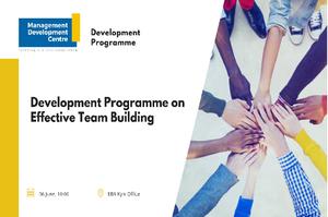 Development Programme on Effective Team Building