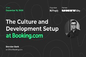 Культура и развитие в Booking.com
