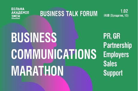 Business Communications Marathon - Business Talk Forum