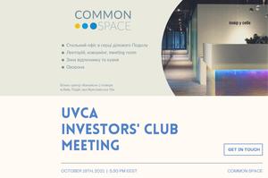 UVCA Investors Club Public Meeting