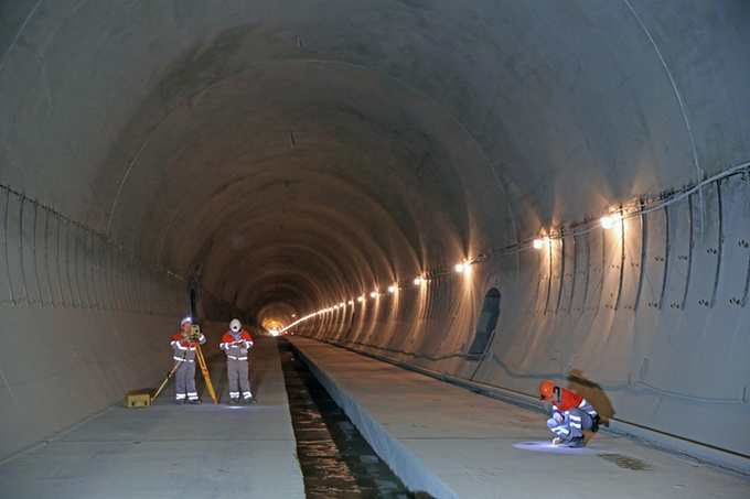 Колійні роботи всередині Бескидського тунелю почнуть наприкінці жовтня