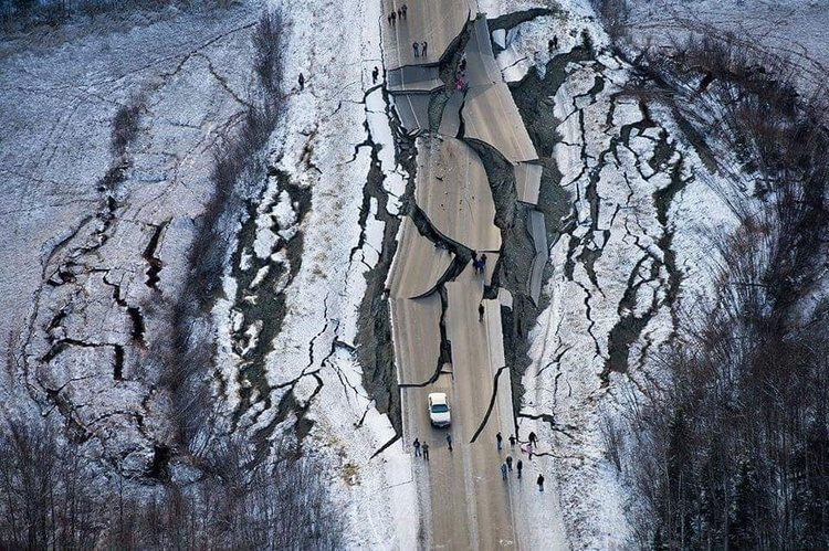 В Алясці стався потужний землетрус, Трамп оголосив надзвичайний стан (ФОТО)